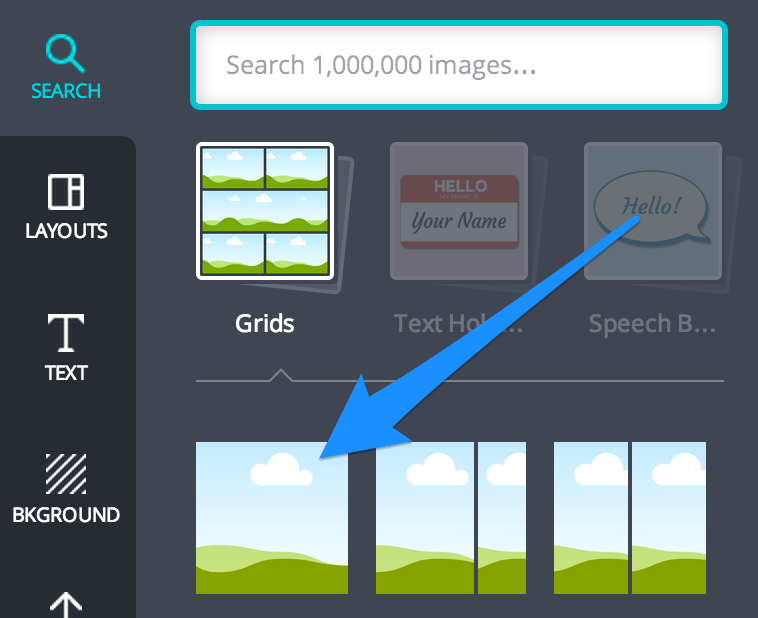 search grids canva